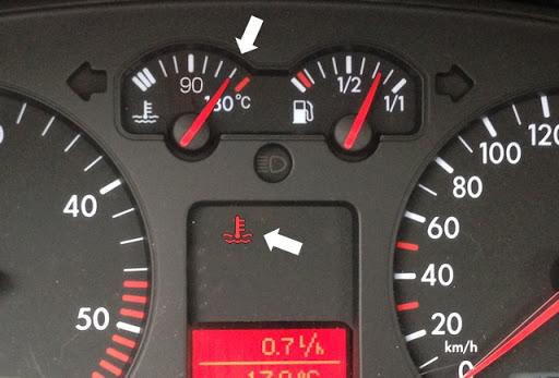 Comment faire face à une panne d'aiguille de votre température moteur ?