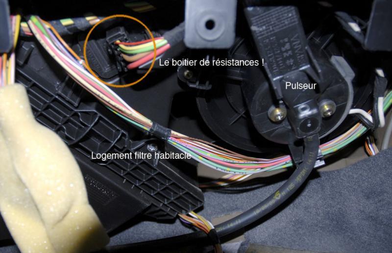 Pourquoi la ventilation de ma Xsara ne fonctionne plus ?